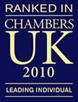 Ranked in chambers UK 2010
